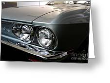 1969 Chevrolet Corvair 500 Greeting Card by Wingsdomain Art and Photography