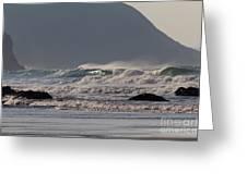 Porthtowan Cornwall Greeting Card by Brian Roscorla