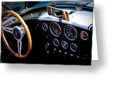 1966 Ford Ac Shelby Cobra 427 Greeting Card by David Patterson