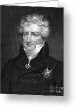 Baron Georges Cuvier Greeting Card by Granger