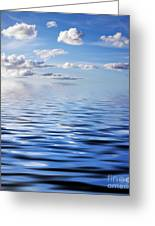 Blue Sky Greeting Card by Kati Molin