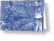 Capture Of Nat Turner, American Rebel Greeting Card by Photo Researchers