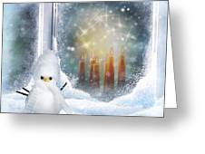 Christmas Greeting Card by Dani Prints and Images