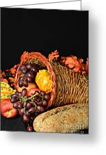 Cornucopia Greeting Card by Timothy OLeary