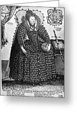 Elizabeth I (1533-1603) Greeting Card by Granger