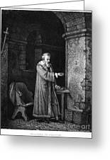 Galileo Galilei (1564-1642) Greeting Card by Granger