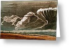 German Cloud Atlas, 1819 Greeting Card by Science Source