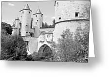 Germans Gate Metz France Greeting Card by Joseph Hendrix