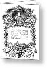 Goethe: Werther Greeting Card by Granger