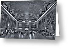 Grand Central Station Greeting Card by Susan Candelario