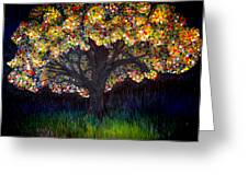 Gumball Tree 0001 Greeting Card by Monica Furlow