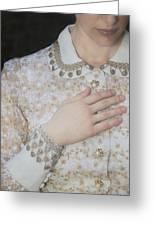 Hand Greeting Card by Joana Kruse