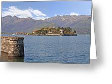 Isola Bella Greeting Card by Joana Kruse