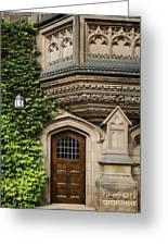 Ivy League Greeting Card by John Greim
