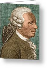 Jean Le Rond Dalembert, French Polymath Greeting Card by Science Source