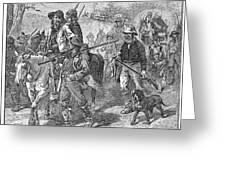 Kansas: Border Ruffians Greeting Card by Granger