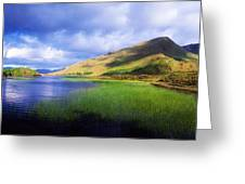 Kylemore Lake, Co Galway, Ireland Lake Greeting Card by The Irish Image Collection