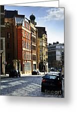 London Street Greeting Card by Elena Elisseeva