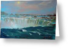 Niagara Falls Greeting Card by Ylli Haruni