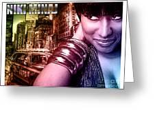 Niki Minaj Greeting Card by The DigArtisT