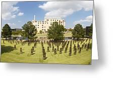 Oklahoma City National Memorial Greeting Card by Ricky Barnard