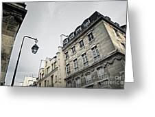 Paris street Greeting Card by Elena Elisseeva