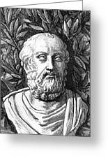 Plato, Ancient Greek Philosopher Greeting Card by