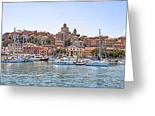 Porto Maurizio - Imperia Greeting Card by Joana Kruse