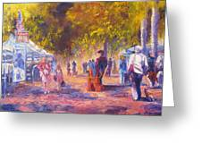 Promenade Greeting Card by Terry  Chacon