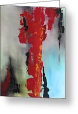 Rojo Greeting Card by Eric Chapman