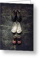 Shoes Greeting Card by Joana Kruse