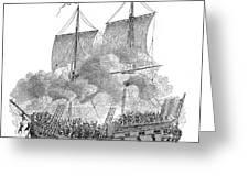 SLAVERY: SLAVE SHIP Greeting Card by Granger