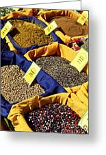 Spices On The Market Greeting Card by Elena Elisseeva