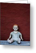The Doll Greeting Card by Joana Kruse