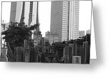 Tokyo Greeting Card by Bernard Wolff