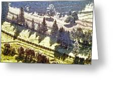 Transylvania landscape Greeting Card by Odon Czintos