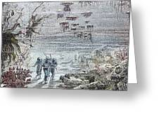 VERNE: 20,000 LEAGUES, 1870 Greeting Card by Granger