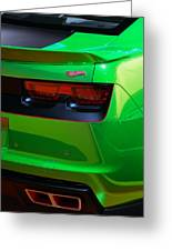 2012 Hot Wheels Chevrolet Camaro Concept Greeting Card by Gordon Dean II