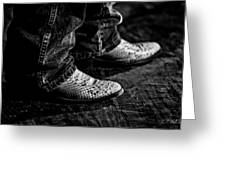 20120928_dsc00448_bw Greeting Card by Christopher Holmes