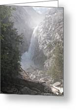 Yosemite Greeting Card by Carol Ailles