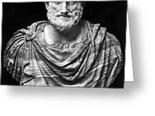 ARISTOTLE (384-322 B.C.) Greeting Card by Granger