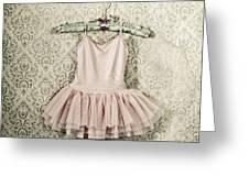 ballet dress Greeting Card by Joana Kruse
