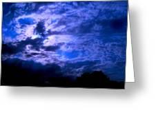 Blue Lagoon Greeting Card by Allen n Lehman