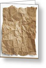 Brown Paper Greeting Card by Blink Images