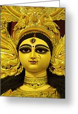 Durga Goddess 2012 Greeting Card by Rajan Advani