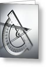 Geometry Set Greeting Card by Tek Image