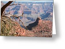 GRAND CANYON NATIONAL PARK USA ARIZONA Greeting Card by Audrey Campion