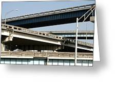 Highways Greeting Card by Blink Images
