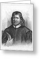 John Bunyan (1628-1688) Greeting Card by Granger