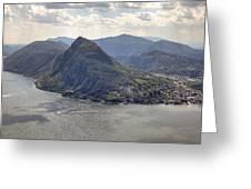 Lugano Greeting Card by Joana Kruse